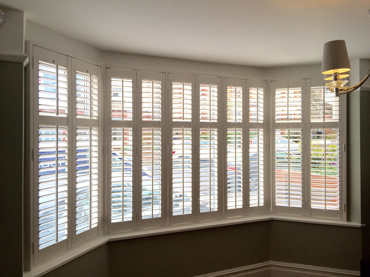 Faux wood shutters - 10 year guarantee